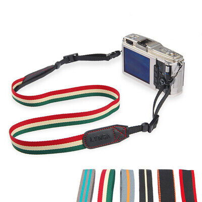 Vintage Classic Weave Camera Shoulder Neck Strap Belt Universal Camera Accessory