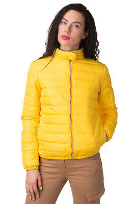 STELL BAYREM Down Quilted Jacket Size IT 46 / L Stand-Up Collar Made in Italy