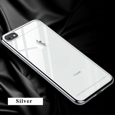 For iPhone 6 Plus/6s Plus SHOCKPROOF Clear Hard PC Ultra Thin Slim Case Cover