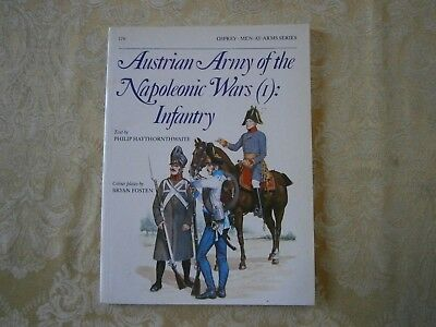 Osprey Men-At-Arms Series 176 Austrian Army of the Napoleonic Wars (1) Infantry