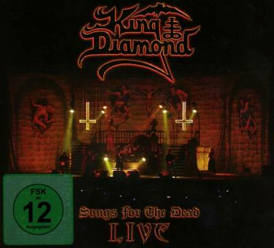 KING DIAMOND Songs For The Dead Live BOX 2CD+DVD NUOVO