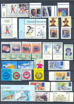 Kazakhstan  Lot Tematics  Mnh