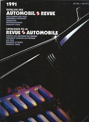 Automobil Revue Automobile 1991 • Catalogue Number • GOOD