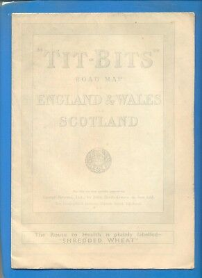 Road Map Of England And Scotland.Tit Bits Road Map Of England Wales And Scotland