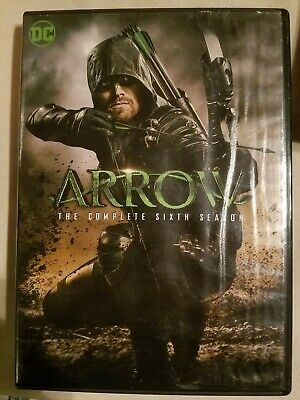 Arrow: The Complete Sixth Season (DVD, 2018,5-Disc) *Combine Shipping Ships FAST