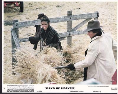 Richard Gere and Brooke Adams Days of Heaven 1978 vintage movie photo 23646