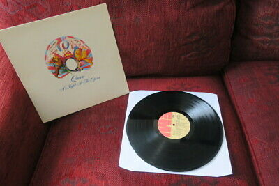 Queen ~ A Night At The Opera 1975 `rare` Portugal Pressing Lp G/f Sleeve Vinyl