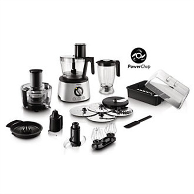 Philips Avance Collection Food processor HR7778/00 Stainless steel, 1300 W, N...