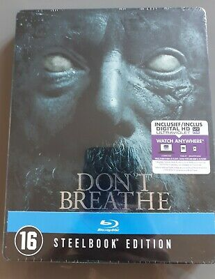 Blu ray steelbook Don't Breathe Neuf avec VF