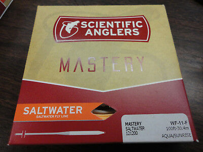 Scientific Anglers Mastery Textured  Saltwater Grand Slam Fly Line WF11F