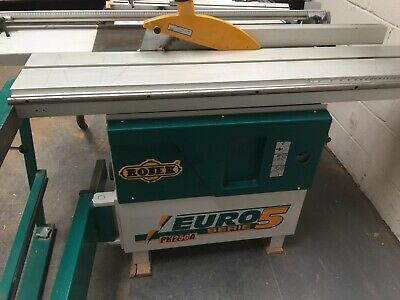 ROJEK EURO Serie 5 PK 250 A Panel Saw with MWM bag extraction unit