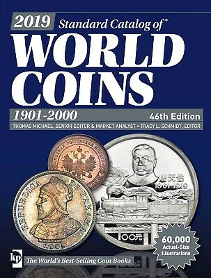 2019 Standard Catalog of World Coins 1901 - 2000(46th ed) PDF File on eMail Only