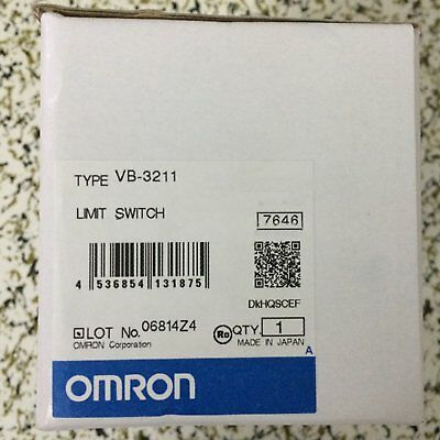 1PC New IN BOX Omron PLC travel switch VB-3211 *SHIP TODAY*