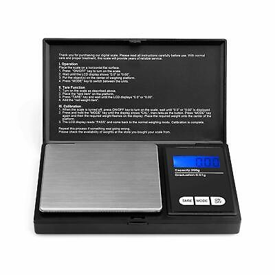 Small Mini Pocket LCD Digital Micro Weighing Scales Jeweler Jewellery Scales New