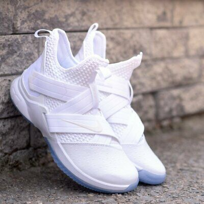 416f809a865 Nike LeBron Soldier XII 12 Men s SFG Basketball Shoes (Size 14) White  AO4054-