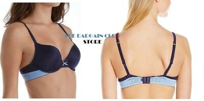 TOMMY HILFIGER BRA Signature Brushed Micro Push Up Plunge