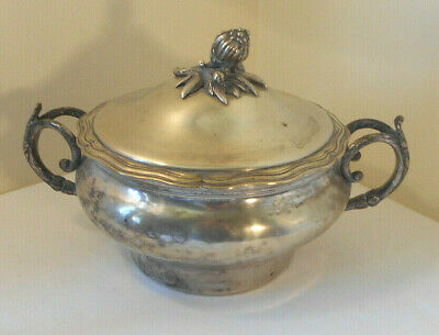 Antique Soup Tureen~made in France~Silverplate