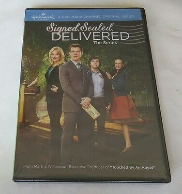 "Signed, Sealed, Delivered: The Complete Series (DVD, 2015, 2-Disc Set) ""NEW"""