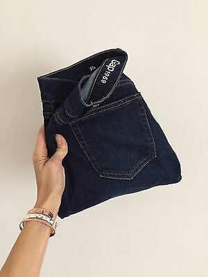 Jeans Gap Girlfriend Blu 27 Short Donna 40