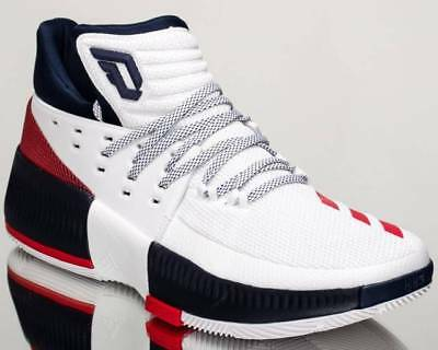 hot sale online e5279 0de5a New Mens Adidas D Lillard 3 Sneakers By3762-Shoes-Basketball-Size 12
