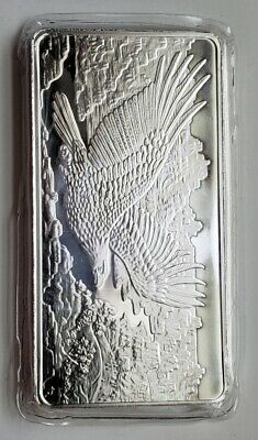 Republic Metals Corp Eagle RMC 10 Troy oz .999 Fine Silver Bar - Mint Sealed