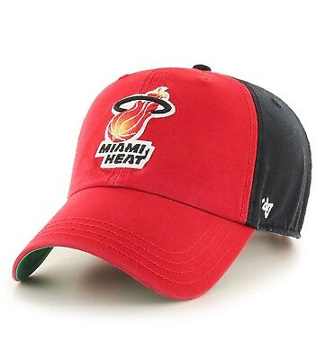 new arrival 1e5f0 c2bfd ... italy brand new miami heat flagstaff cleanup hat cap adjustable 47 brand  e4bf0 a40c2