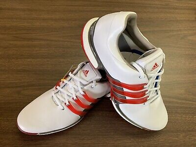 buy popular 4b08a 3ac1d Adidas Tour 360 Boost 2.0 Golf Shoes 2018 WhiteRed Mens Size 14
