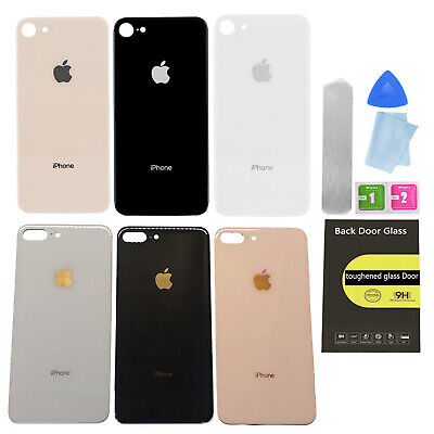 Battery Back Glass Cover Housing Back Door Replacement For iPhone 8 8 plus