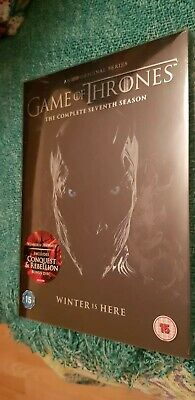 Game of Thrones - Season 7 Seventh With Conquest & Rebellion  DVD Box Set *New*