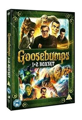 Goosebumps 1 & 2 (UK DVD Box Set)  Brand New and Sealed FREE POSTAGE