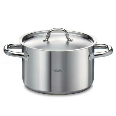 Fissler Family Line Stainless Steel Cooking Pot, Induction, Lid Casserole Ø 24cm