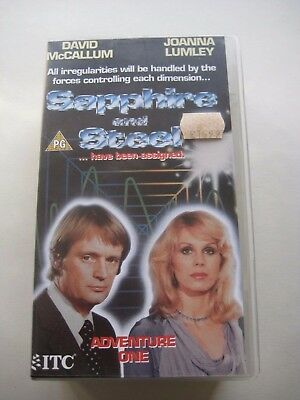 Sapphire and Steel VHS Video - Adventure One 1 - ITC 8120 - Joanna Lumley