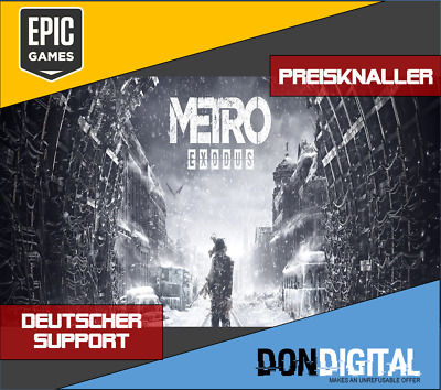 Metro Exodus [Epic Download] [Multi Global] [No Key/Code] [Region Free] [PC]