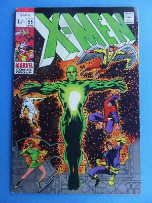 X-Men 55 1969 Barry Smith Cover! Fn+