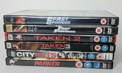 DVD Bundle of 6 action packed movies!! only £1.50 per DVD. Grab your bundle now!