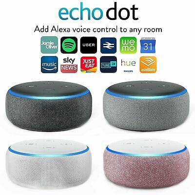 Amazon Echo Dot 3rd Generation Smart Speaker with Alexa - New - UK-stock !!!