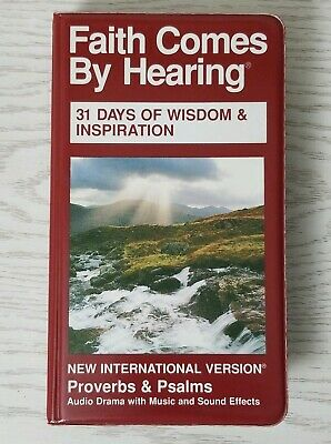 FAITH COMES BY Hearing Proverbs & Psalms 31 Day Bible Study cassettes  dramatized