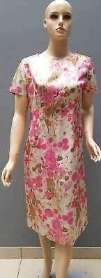 STUNNING Vintage 60s Cocktail Dress By Mr David Petite Size 12 maybe 14 Original