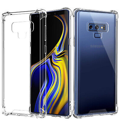 For Samsung Galaxy S7 S8 S9 S6 Case Coque en Silicone Protective Clear Gel Cover