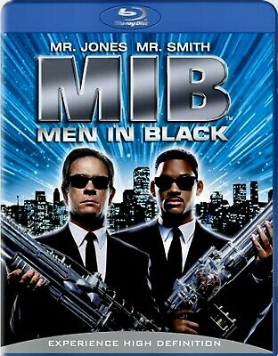 NEW BLU-RAY - MIB - MEN IN BLACK - Tommy Lee Jones, Will Smith , Rip Torn