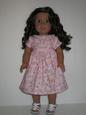 "Pretty Pigs Dress for 18"" Doll American Girl Doll Clothes"