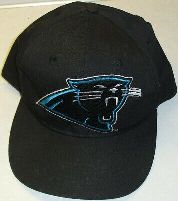 0130a055989 CAROLINA PANTHERS Vintage Snapback hat Original 90s -BRAND NEW!!- NFL