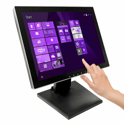 "15"" Pro Series Capacitive LED Backlit Multi-Touch Monitor, True Flat Seamless"
