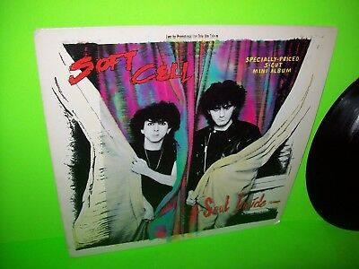 "Soft Cell ‎– Soul Inside Vinyl 12"" Record SynthPop 1984 Darkwave PROMO 007 Theme"