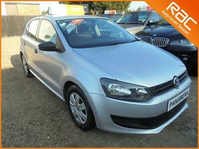 2010 10 Volkswagen Polo 1.2 S 5Dr 60 Bhp Finance With No Deposit And Nothing To
