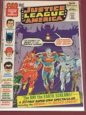 JUSTICE LEAGUE OF AMERICA 97 Mid Grade