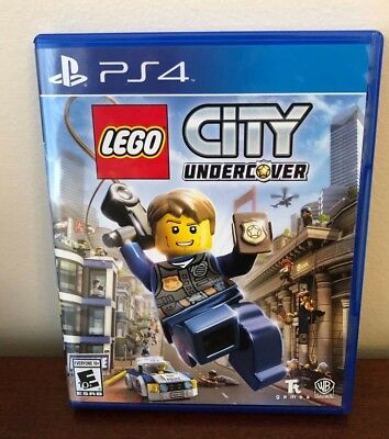LEGO City Undercover Sony PlayStation 4, 2017 PS4 Excellent Condition, Complete