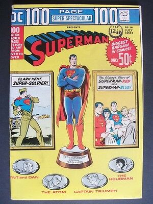 Dc 100 Page Super Spectacular # Dc-18 (Superman, 1973), Fn+