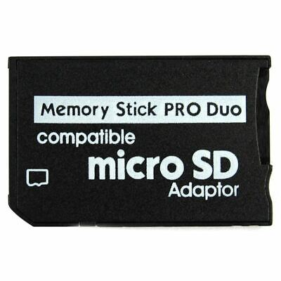 Memory Stick Pro Duo Mini MicroSD TF to MS Adapter SD SDHC Card Reader for  U2C6