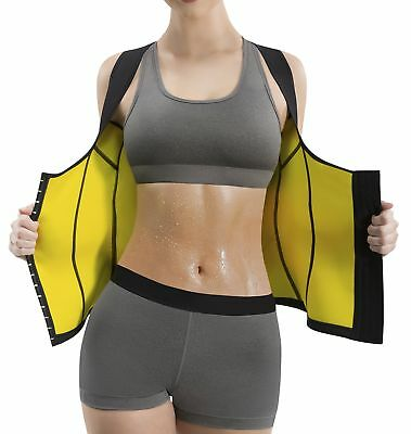 03ebd561c2 Hot Shapers Cami Hot Waist Cincher - Women s Weight Loss Belly Fat Burn Sli.